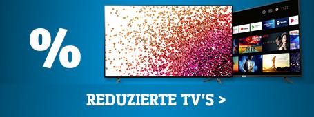 Reduzierte TVs
