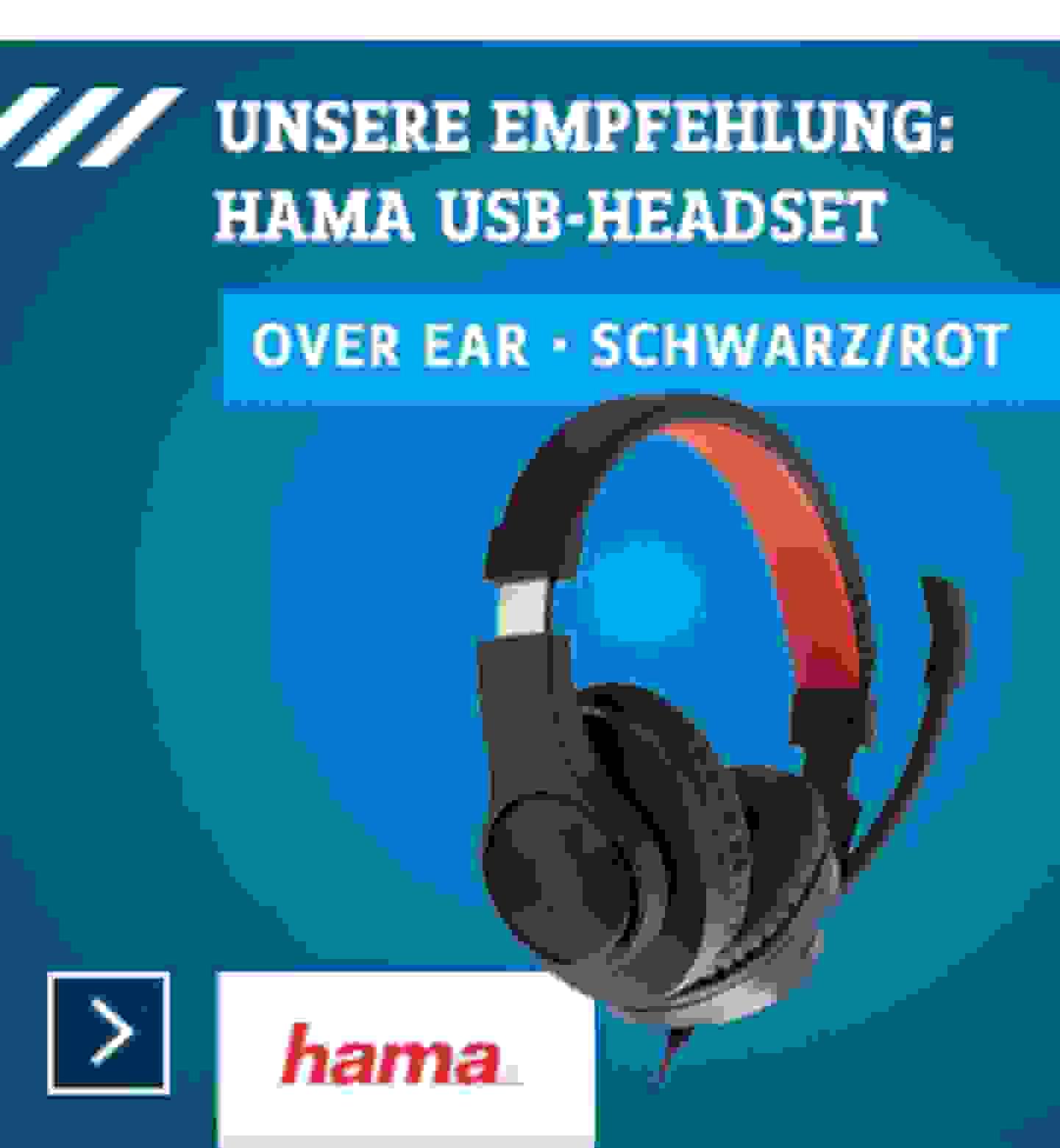 Digitales Lernen - USB Headset