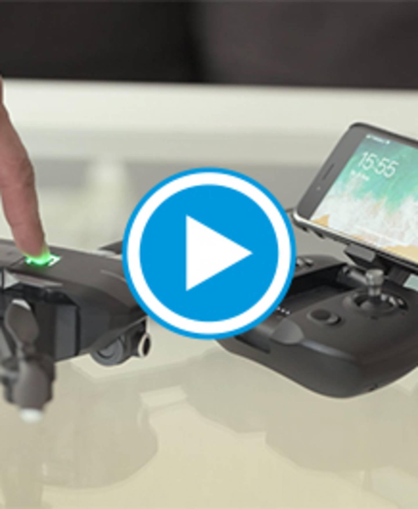 MantisQ - Drone pliable avec caméra et commande vocale - vidéo
