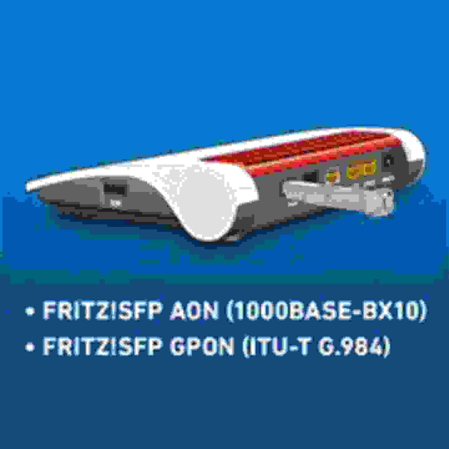 Installation der FRITZ!Box 5530 Fiber