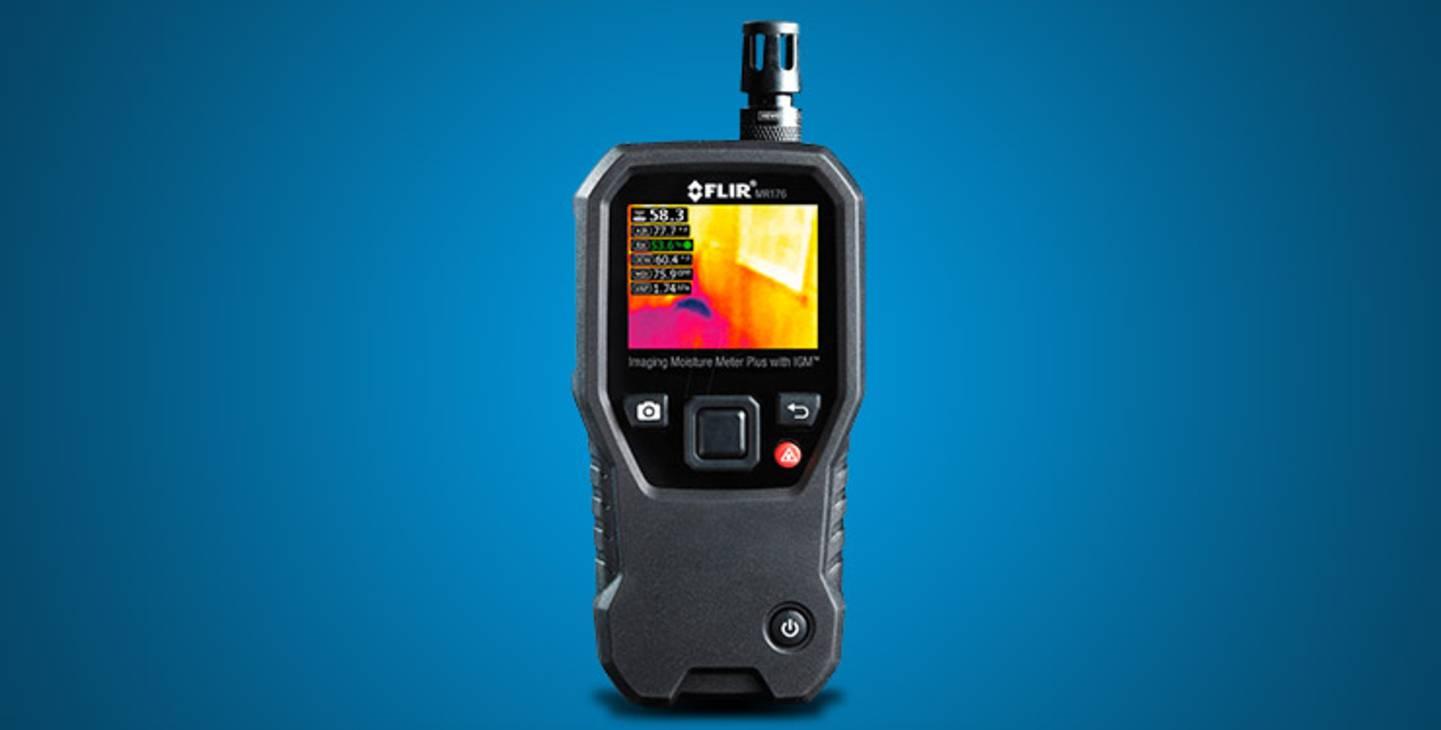 FLIR MR176 Materialfeuchtemessgerät mit integrierter Wärmebildkamera