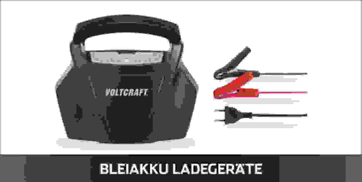 Voltcraft Bleiakku Ladegeräte