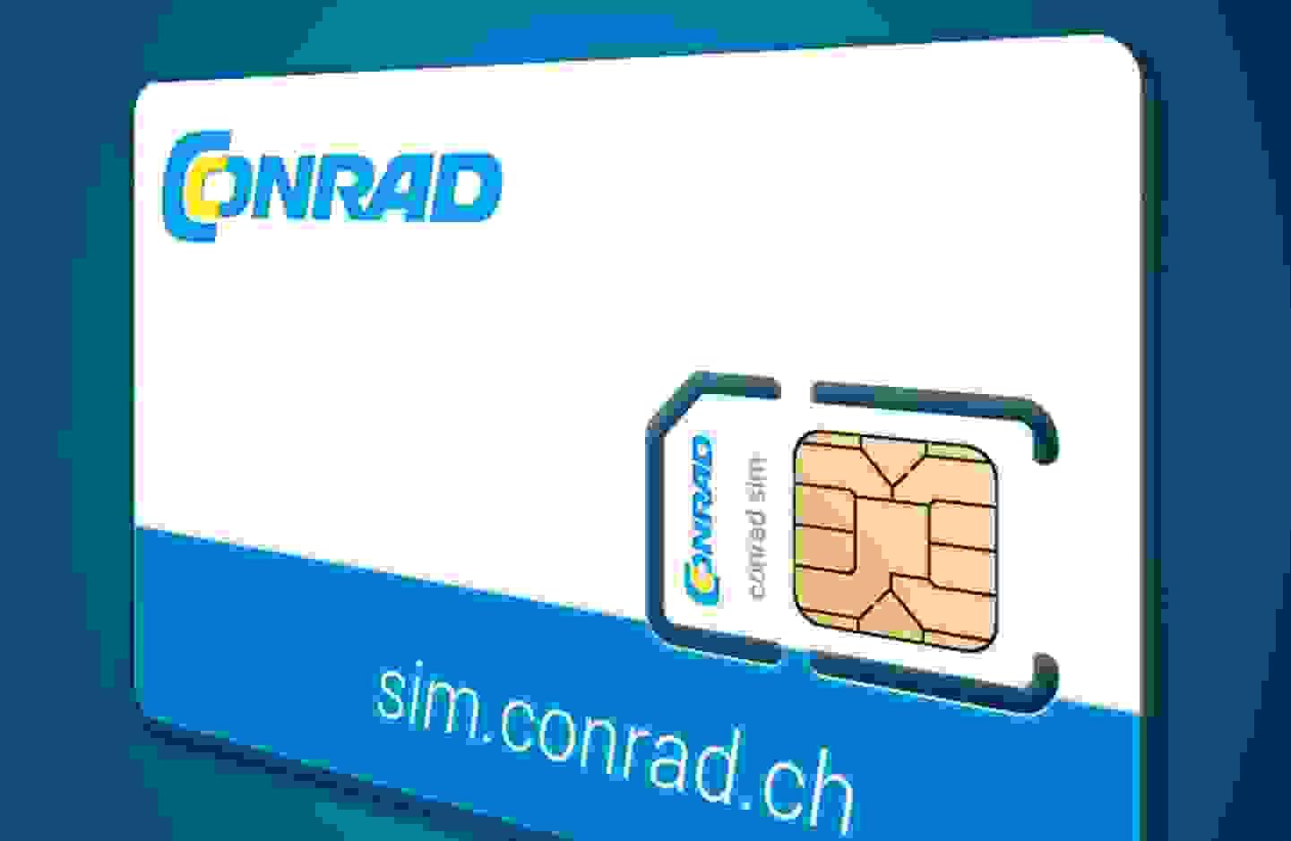 Die Conrad Flat 10 SIM-Karte »