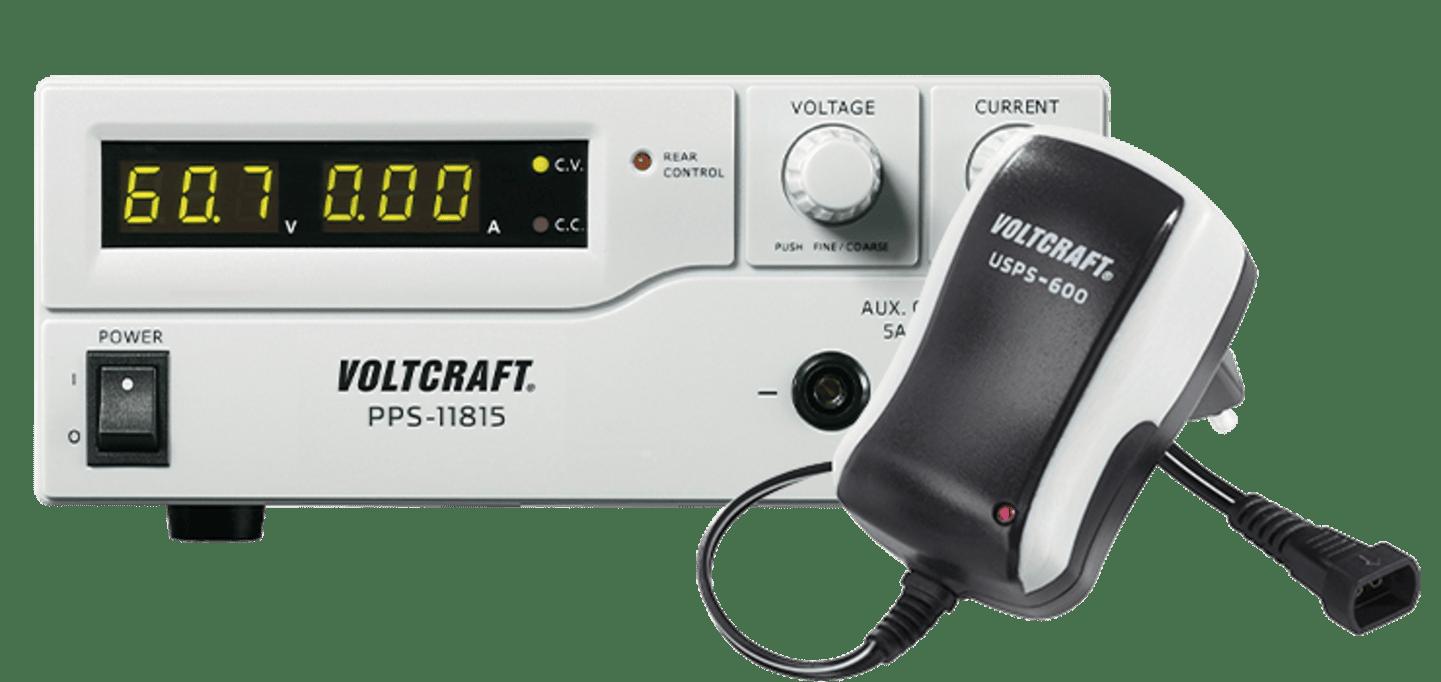 Volcraft - Spannungsvorsorgung »