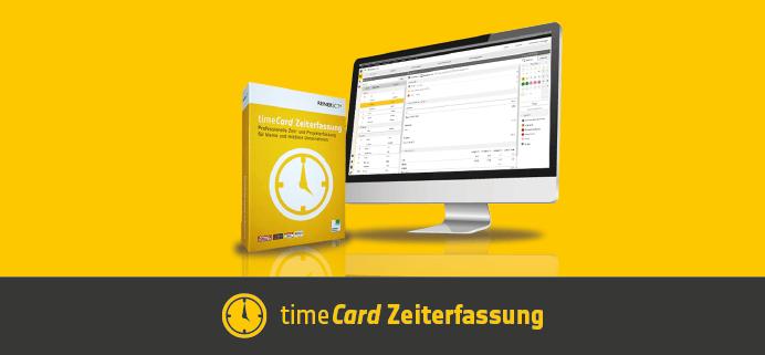TimeCard Zeiterfassung