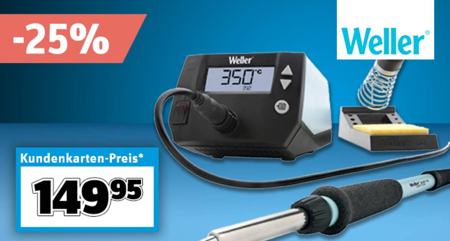 Weller - Lötstation digital | 100 bis 450 °C »