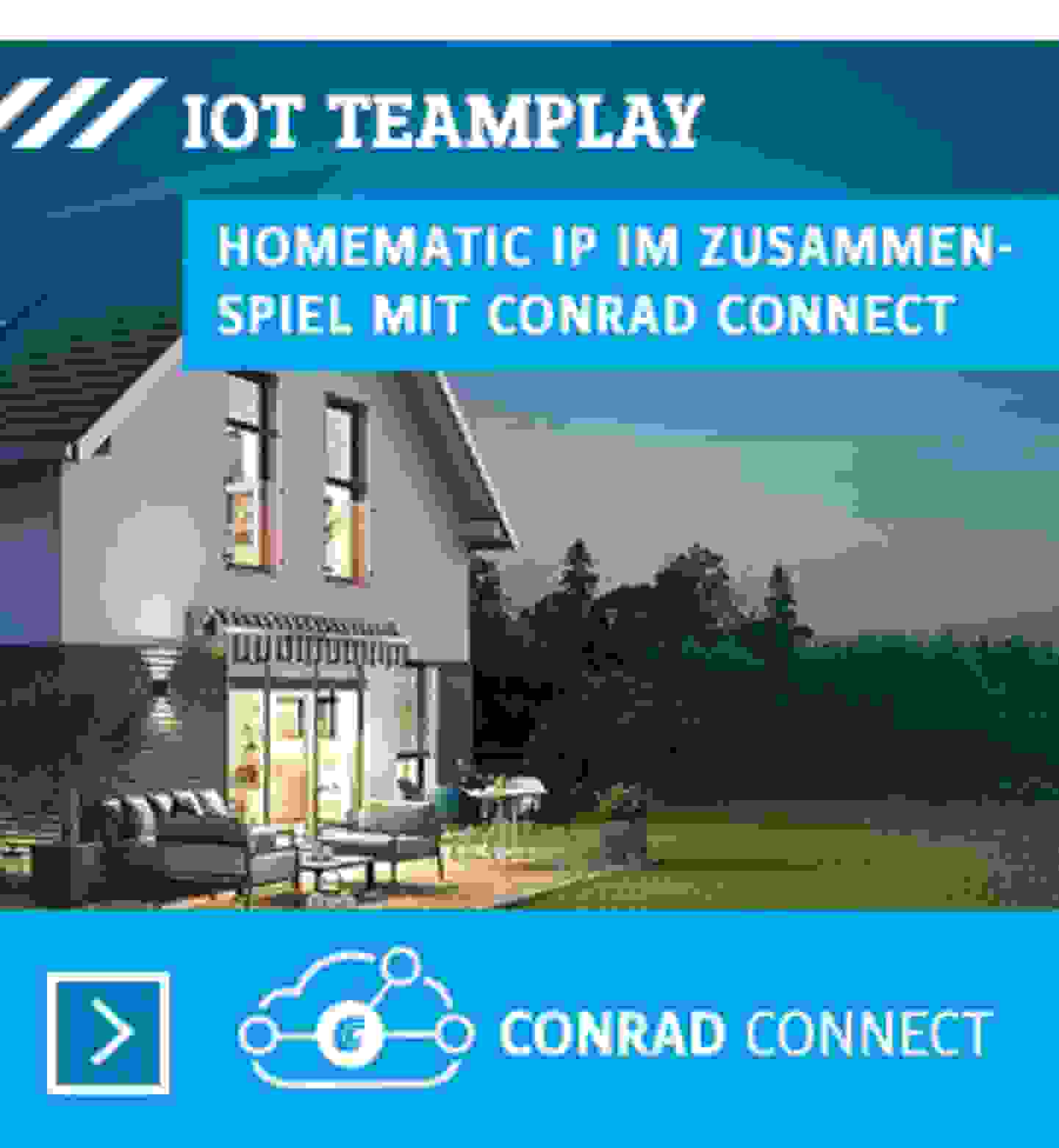 Conrad Connect und HomematicIP