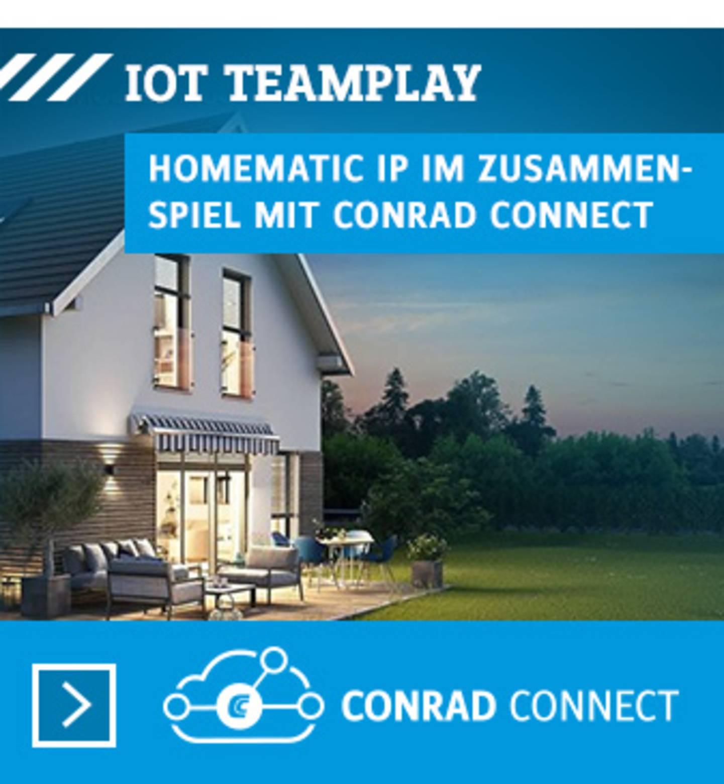 Conrad Connect und HomematicIP