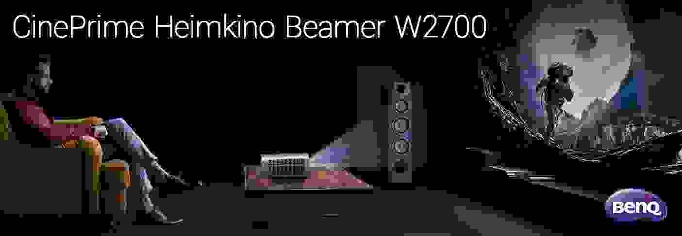 CinePrime Heimkino Beamer W2700