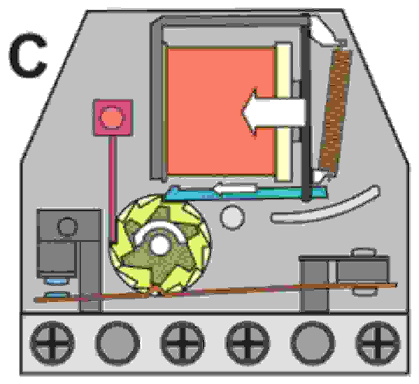 Arbeitsweise eines Stromstoßschalters
