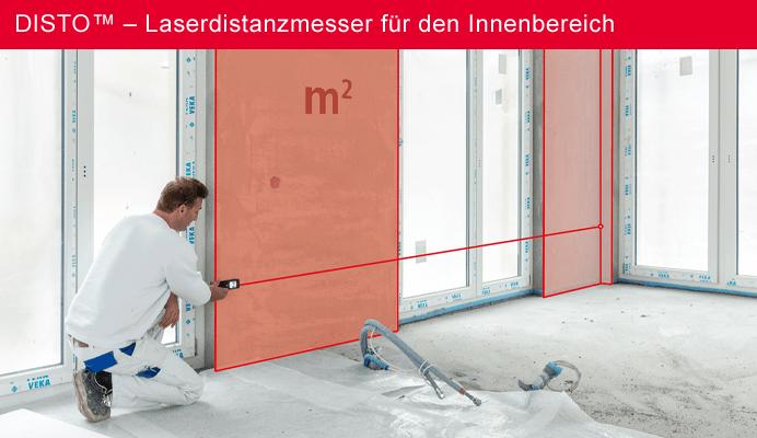 DISTO™ – Laserdistanzmesser für den Innenbereich