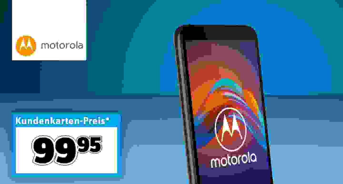 Motorola E6 Play 2-32 Smartphone 32 GB 5.5 Zoll (14 cm) Dual-SIM Android™ 9.0 13 Mio. Pixel Schwarz