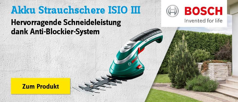 Bosch - Akku Strauchschere ISIO III »» Zum Produkt