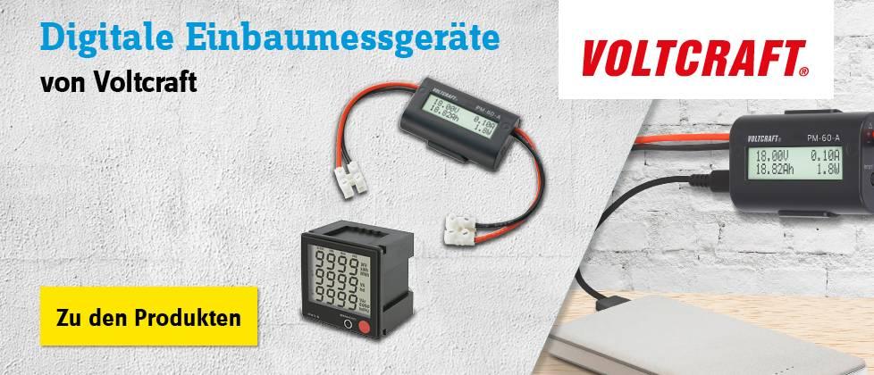 Voltcraft - Digitale Einbaumessgeräte »» Zu den Produkten