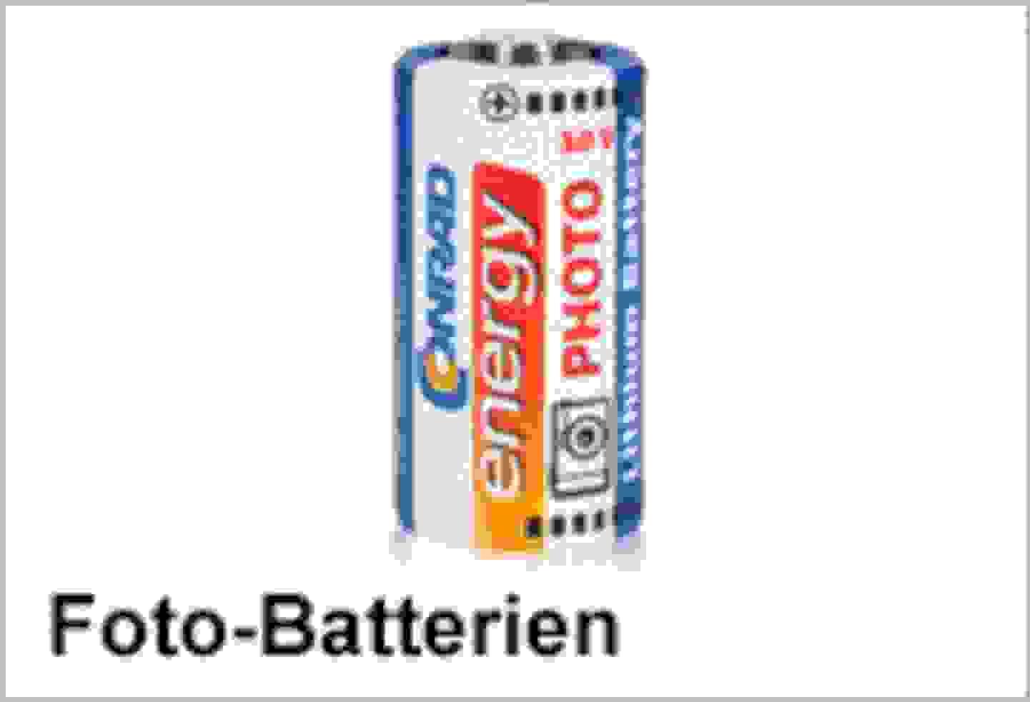 Conrad Energy Foto-Batterien