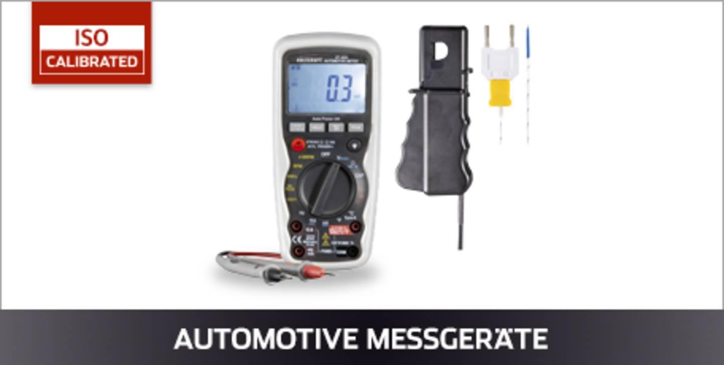 VOLTCRAFT Automotive Messgeräte ISO kalibriert