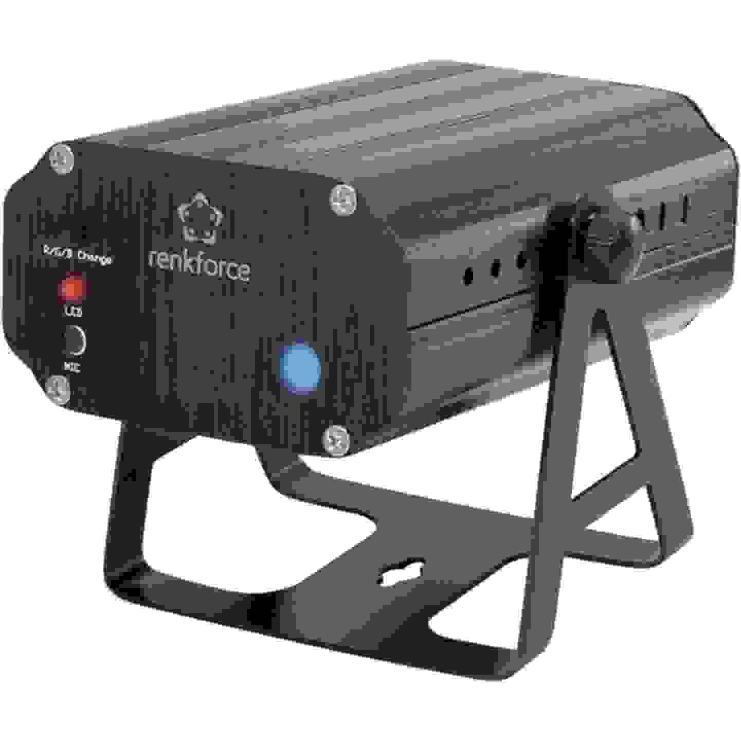 Laser-Lichteffekt mit Mikro