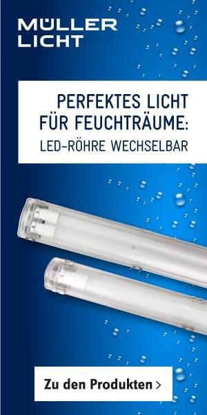 Müller Licht LED-Feuchtraum-Wannenleuchten