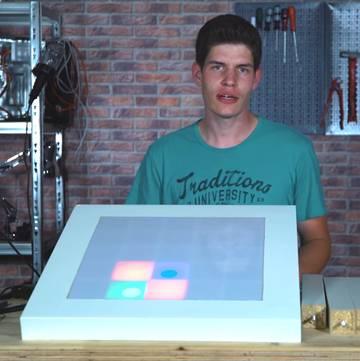 LED-Tisch