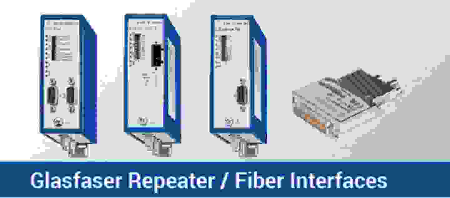 Glasfaser Repeater / Fiber Interfaces
