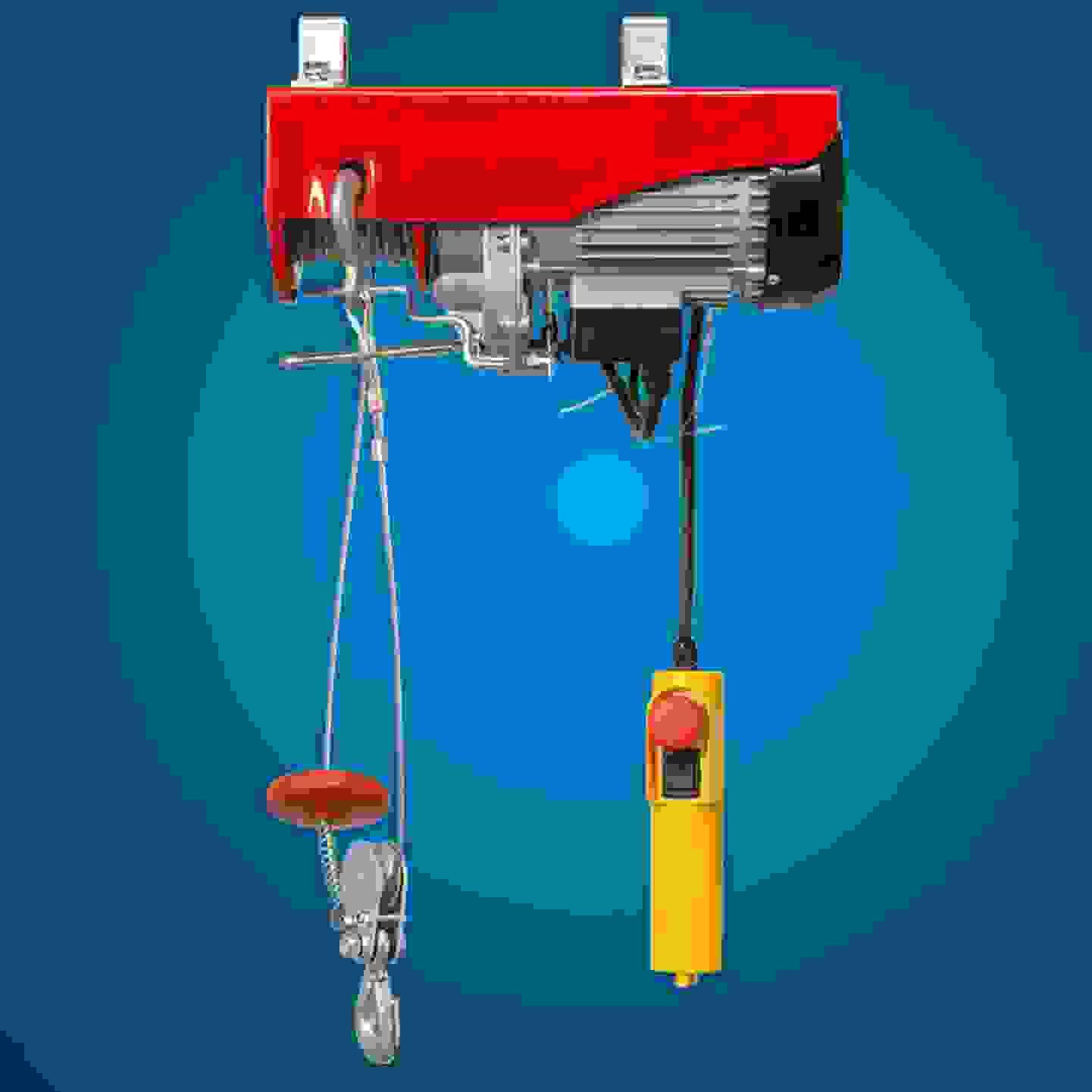 Toolcraft - Elektrischer Seilhebezug »