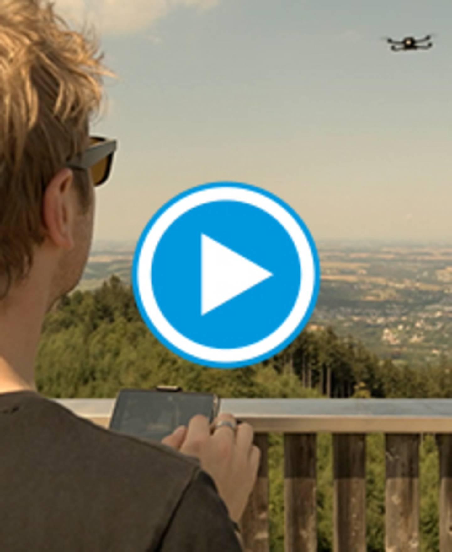 MantisQ - Drone pliable avec caméra et commande vocale - vidéo reconnaissance faciale