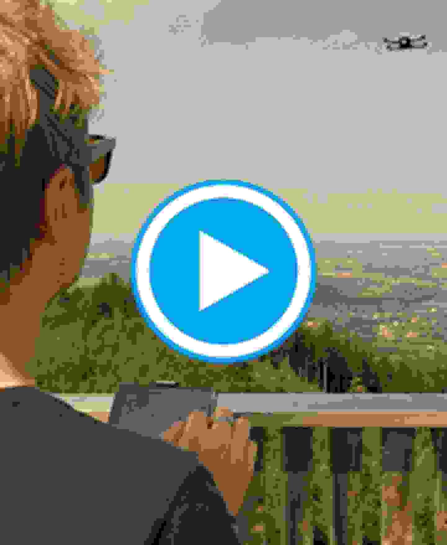 MantisQ - faltbare Kameradrohne - Video Gesichtserkennung