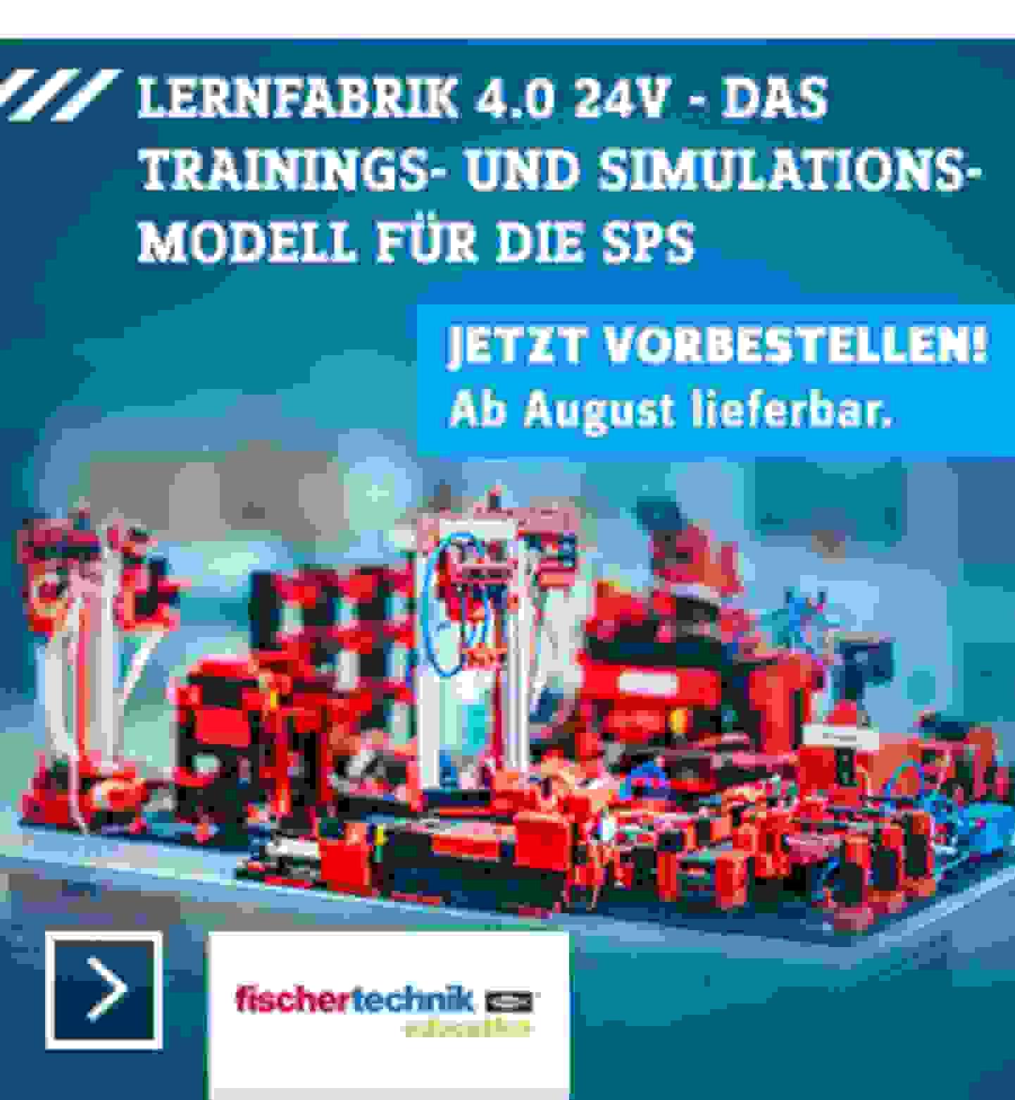 fischertechnik education Lernfabrik 4.0