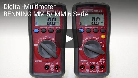 Digital-Multimeter BENNING MM 5/ MM 6 Serie