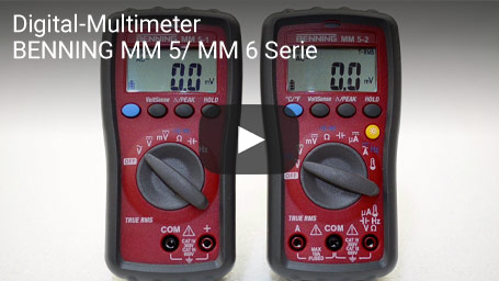 Digital-Multimeter BENNING MM 5/ MM 6 Serie