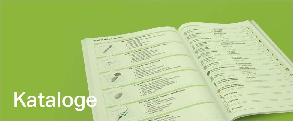 WAGO Kataloge