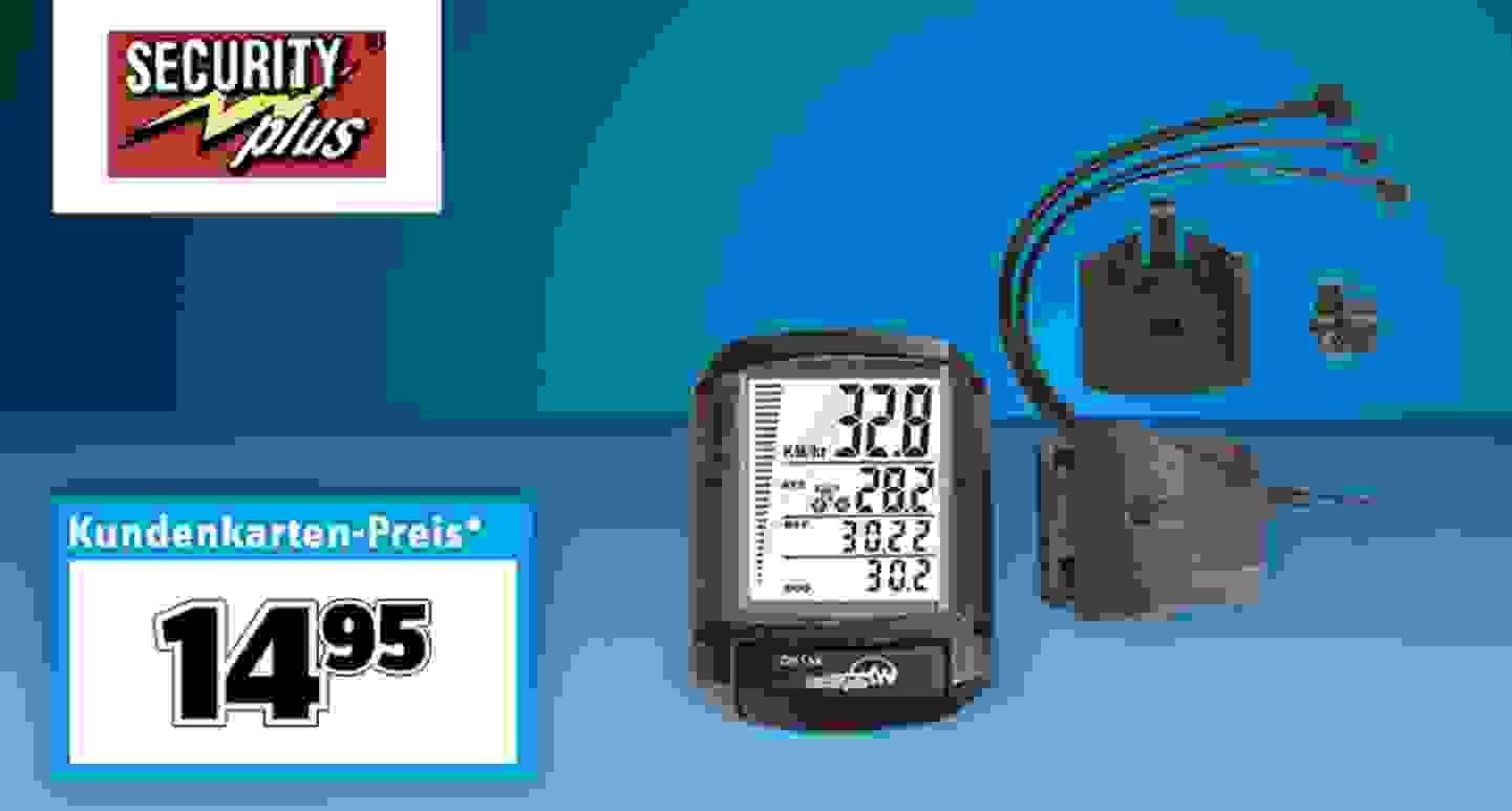 Security Plus - 4in1 Fahrradcomputer »