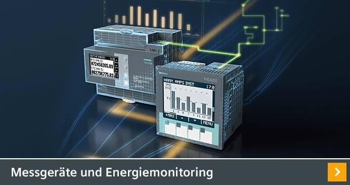 Messgeräte und Energiemonitoring