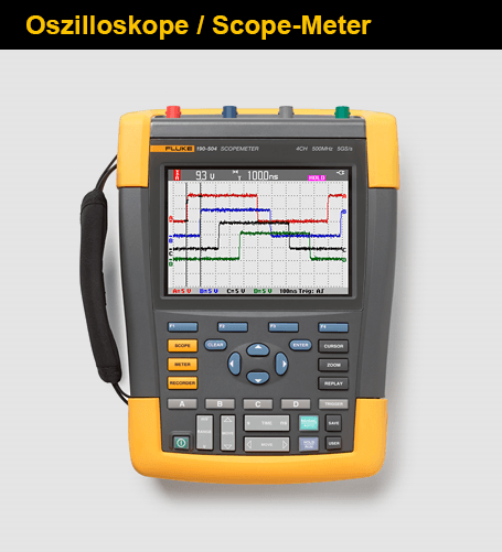 Oszilloskope / Scope-Meter