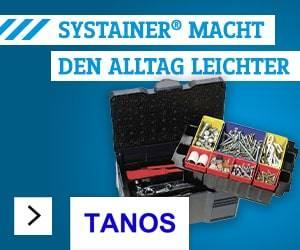 Tanos MINI-systainer T-Loc III Werkzeugkasten