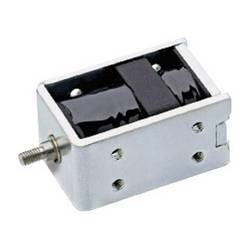 BI-directional solenoid with iron magnet