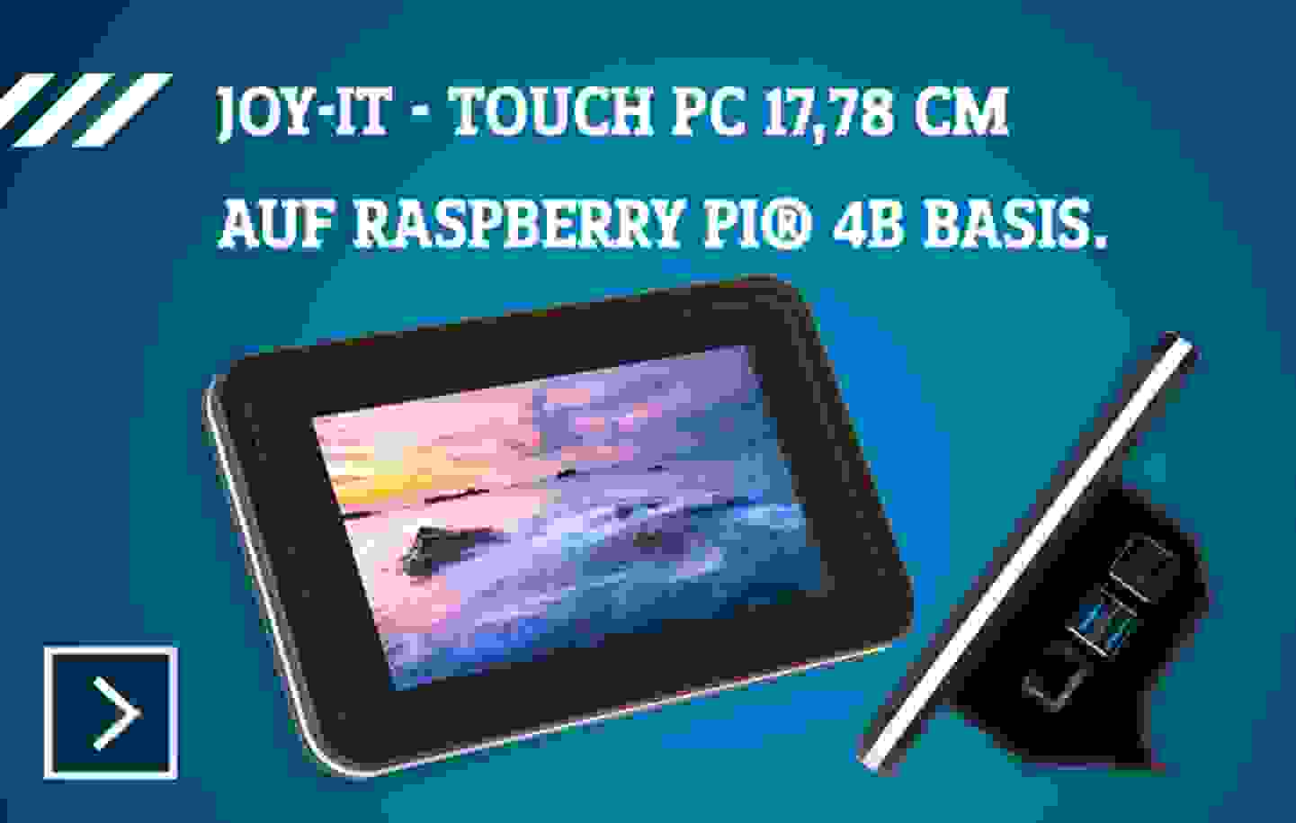 Joy-it Raspberry Pi® Tablet-PC »