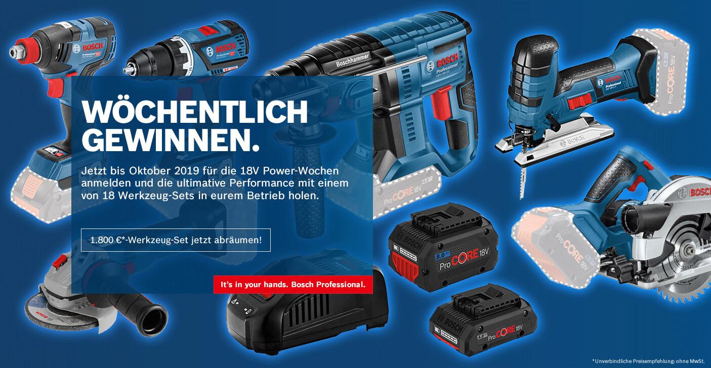 Bosch Powerwochen