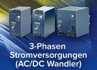 3-Phasen Stomversorgungen (AC/DC Wandler)