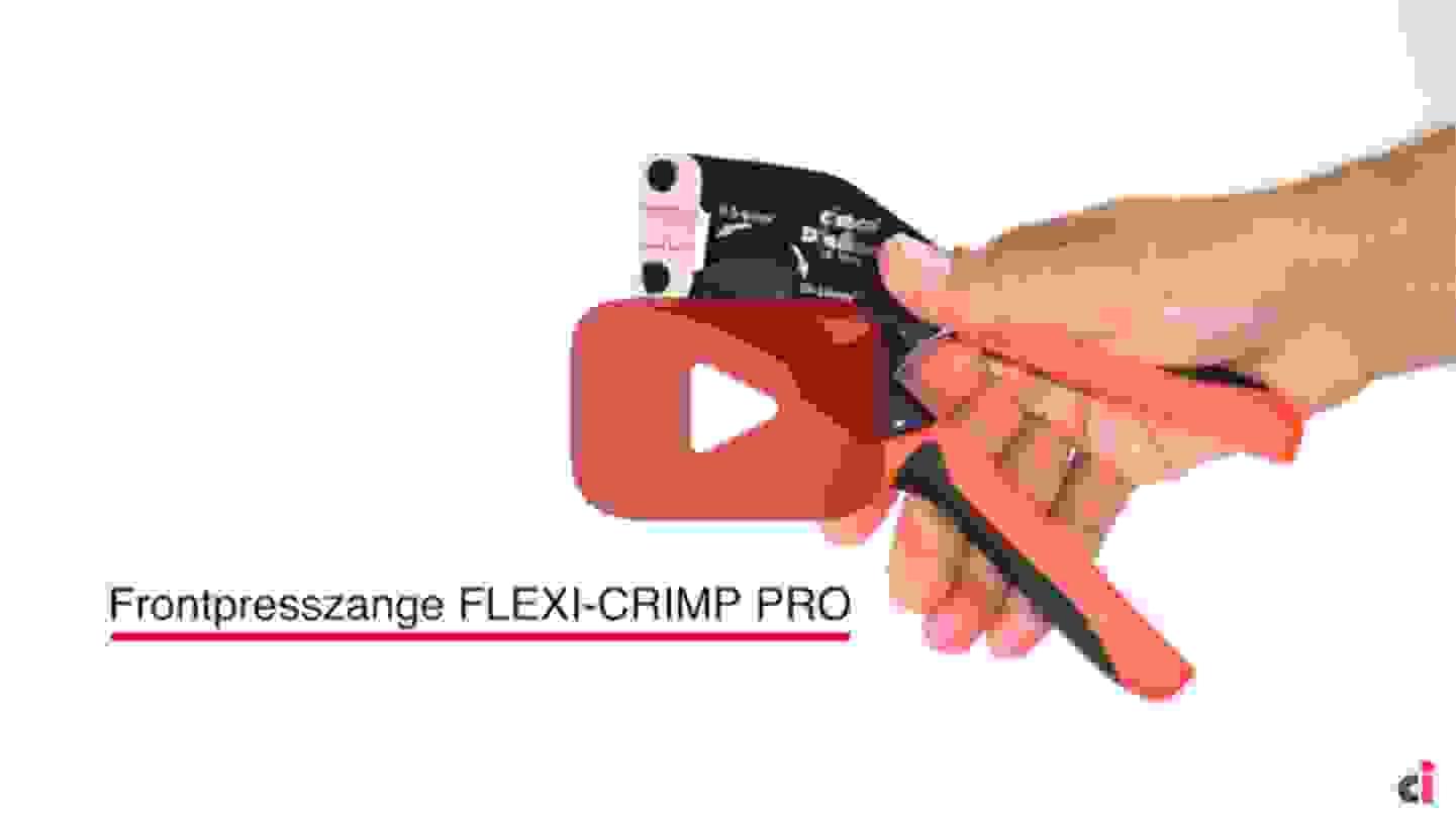Frontpresszange FLEXI-CRIMP PRO