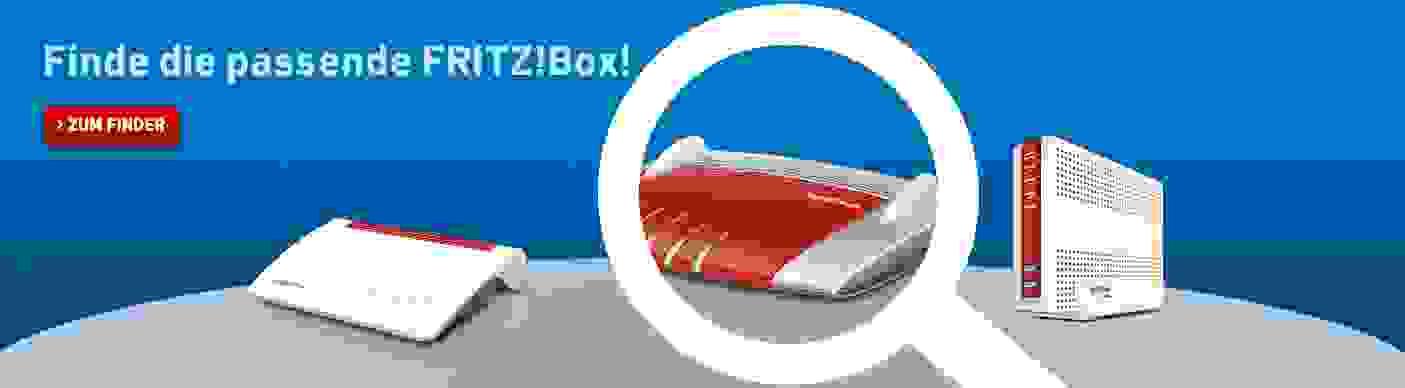 Finde die passende FRITZ!Box