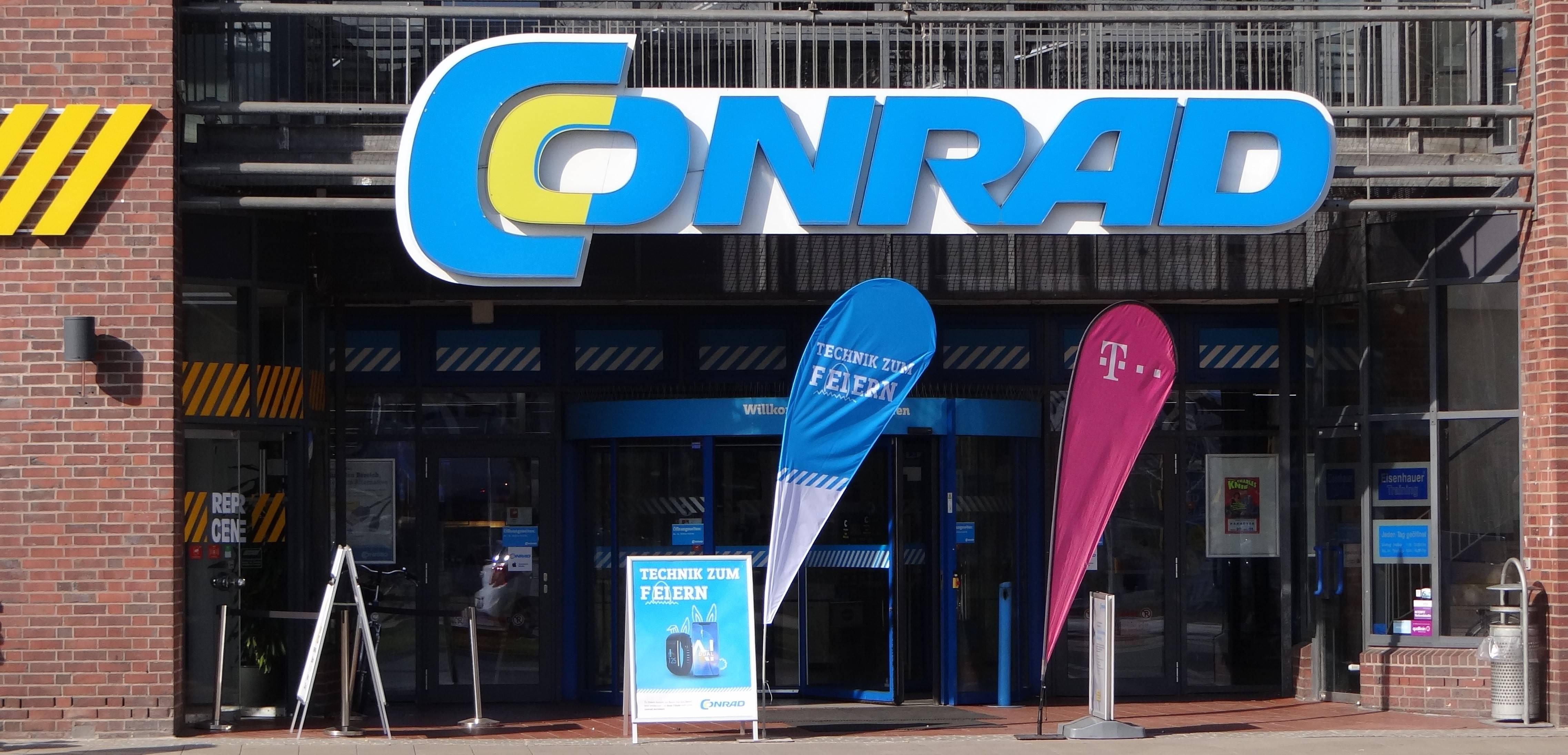 Conrad Hannover Ihr Elektromarkt am Steintor