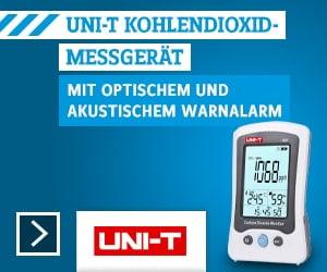 Uni-T Kohlendioxid-Messgerät