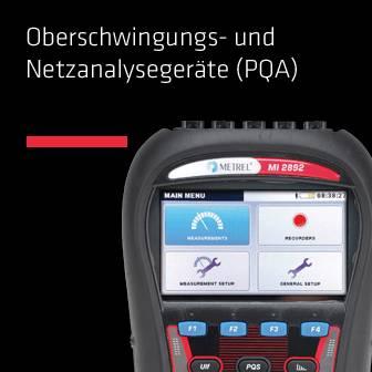 Oberschwingungs- und Netzanalysegeräte (PQA)