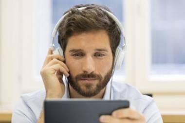 Einfache und unkomplizierte Anwendung der Kopfhörer