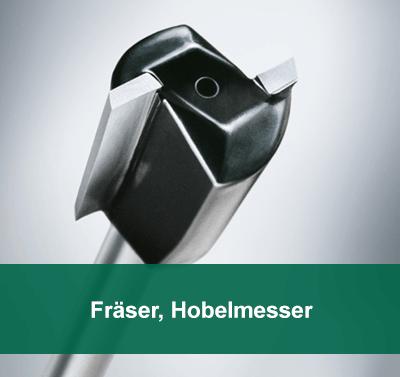 Bosch Fräser & Hobelmesser