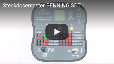 Steckdosentester BENNING SDT 1