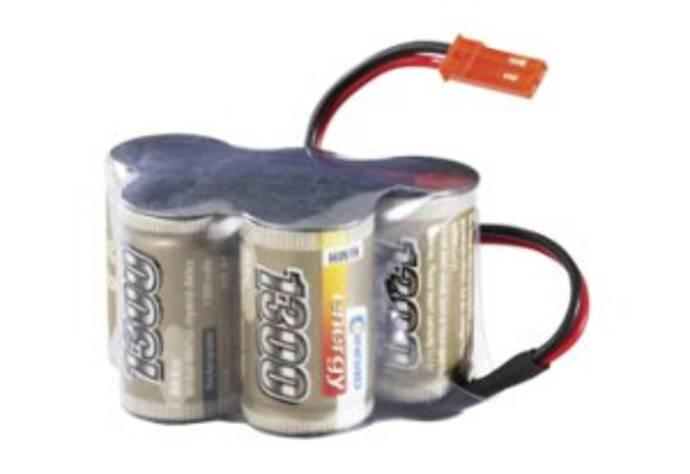 Batteripaket för mottagare för flygmodeller eller radiostyrda bilar