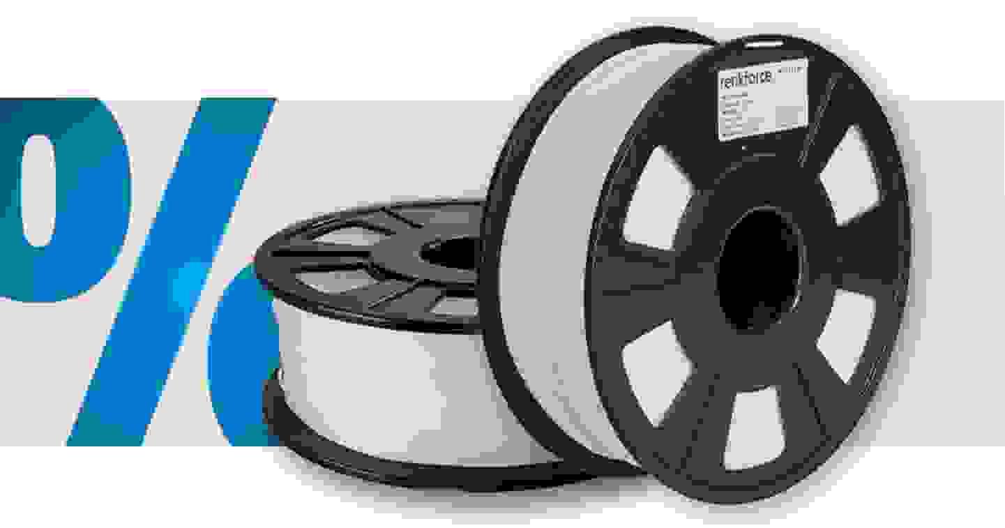 Renkforce - Filament   PLA   1.75mm   Weiss   1kg»