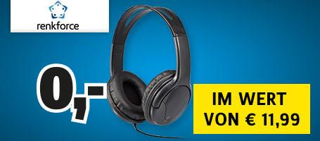 Renkforce HIFI Kopfhörer
